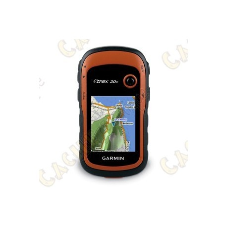 GPS Garmin eTrex® 20x - Topo Active Ouest Europe - Cache Boutique