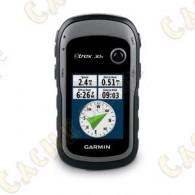 GPS portable avec compas électronique 3 axes, affichage haute résolution et cartographie préchargée