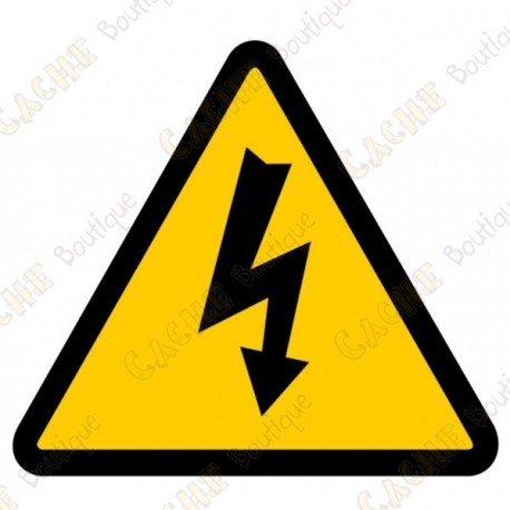 """Cache """"Electric shock risk"""""""