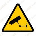 """Cache """"Warning video surveillance"""""""