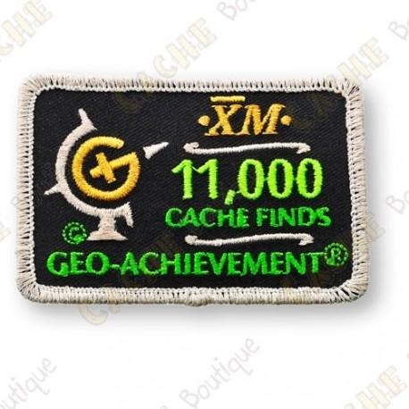 Geo Achievement® 11 000 Finds - Parche