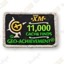 Geo Achievement® 11 000 Finds - Patch