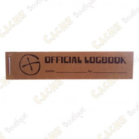 """Little """"Official Logbook"""" for PET - Rite in the Rain"""