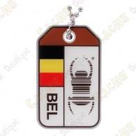 """Travel Bug """"Origins"""" - Belgium"""