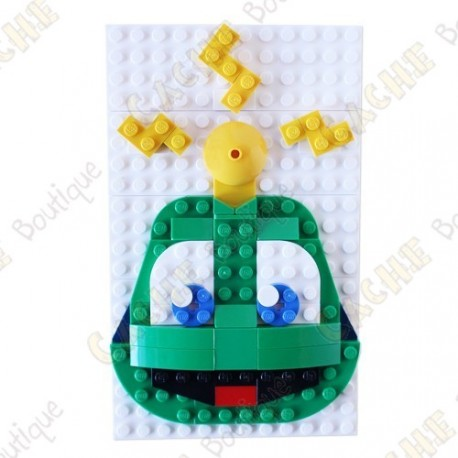 Personnage LEGO™ Signal the Frog® à construire