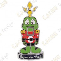 "Géocoin ""Signal the Frog® Nutcracker"""