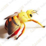 """Cache """"insect"""" - Large bee"""