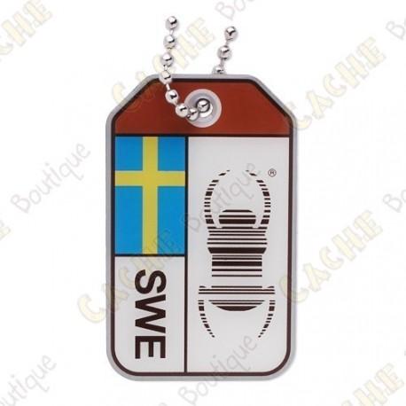 """Travel Bug """"Origins"""" - Suède"""