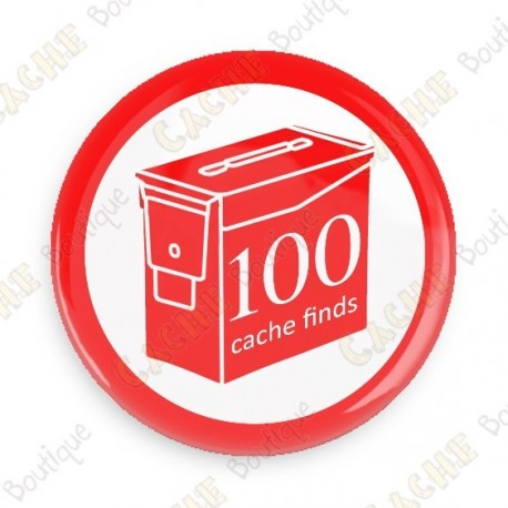 Geo Score Badge - 100 Finds