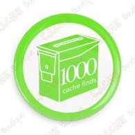 Geo Score Button - 1000 finds