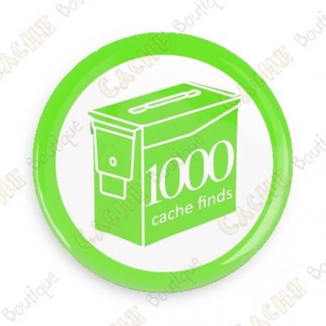 Geo Score Button - 1000 finds