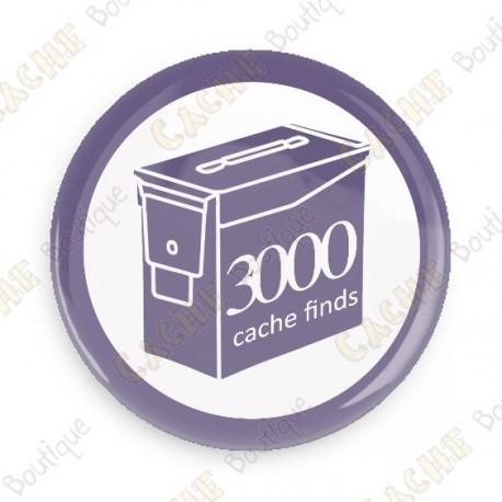 Geo Score Crachá - 3000 finds