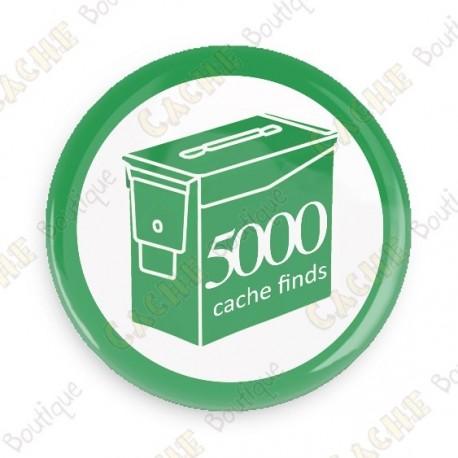 Geo Score Badge - 5000 Finds