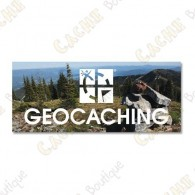 "Magnet ""Geocaching"" acrylique"