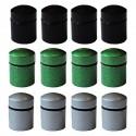 Nano Caches aimantées x 12 - 3 couleurs