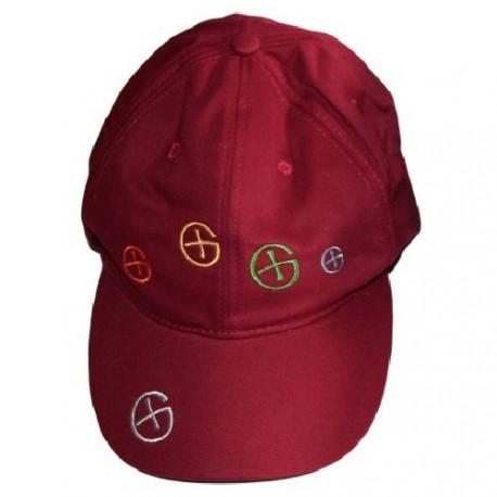 """Boné """"Color Logo"""" - Vermelho"""