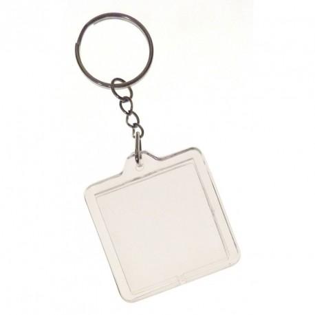Porte-clés à personnaliser - Carré