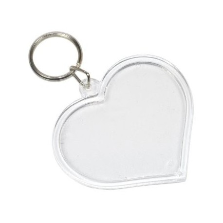 Porte-clés à personnaliser - Coeur