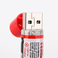 Batteries AA rechargeables sur USB x2 - 1450 mAh