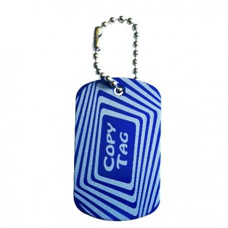 Copy Tag - Traveler de secours - Bleu