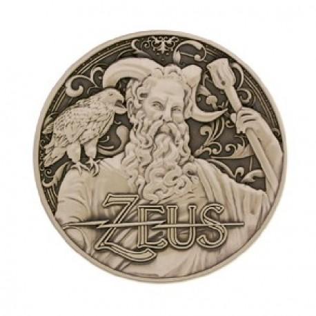 """Géocoin """"Dieux grecs"""" 12 - Zeus"""