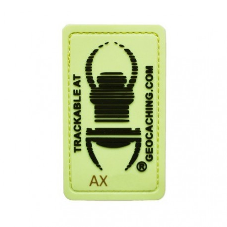 Parche TB trackable - Glow in the dark