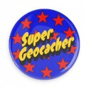 Crachá  Super Geocacher
