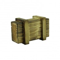 """Cache """"Secret drawer"""" wooden - Small size"""