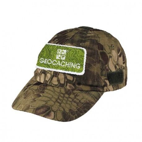 Casquette patch Geocaching - Camouflage serpent