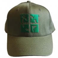 Gorra logo Geocaching - Caqui