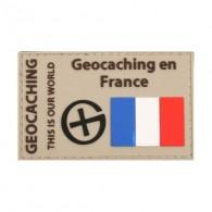 """""""Geocaching en France"""" PVC patch"""