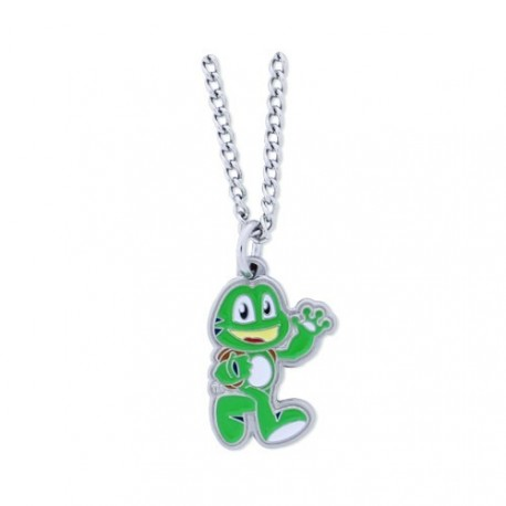 "Géocoin Collier ""Signal the frog"""
