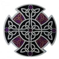 """Geocoin """"Celtic Knot"""" - Preto"""