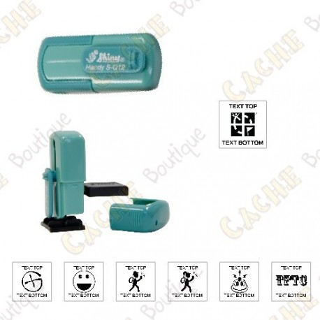 Tampon de poche personnalisable - 12mm - Cache Boutique
