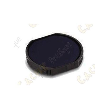 Almohadilla de tinta para sello redondo 17mm