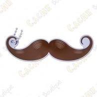 """Traveler """"Moustache"""" - Marron (Taille réelle)"""