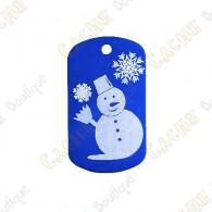 Traveler 'Bonhomme de neige' - Bleu