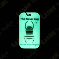 Travel bug QR - Glow in the dark