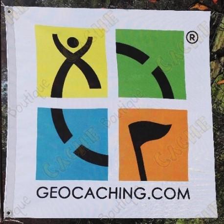 Bandera Geocaching color trackable - Modelo gran