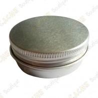"""Cache """"Tin"""" magnétique - Ronde 5 cm plate"""