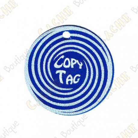 Copy Tag - Geocoin/Traveler de secours - Bleu