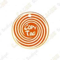 Copy Tag - Geocoin/Double tag - Orange