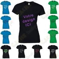 100% customized T-shirt, for Women