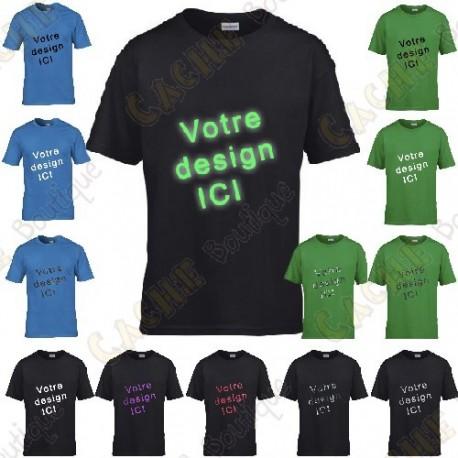 T-Shirt 100% personnalisé, Enfant