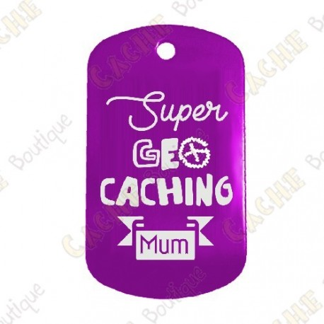"Traveler ""Super Geocaching Mum"" - Roxo"