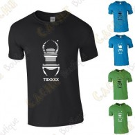 "T-shirt trackable ""Travel Bug"" Homem"