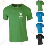 T-shirt trackable com seu Apelido, Homem - Preto