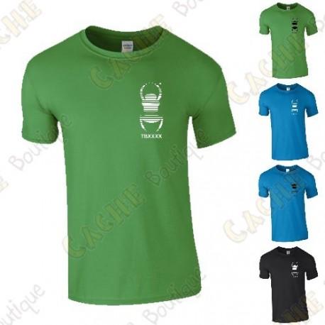 T-Shirt trackable avec votre Pseudo, Homme - Cache Boutique