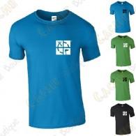 """T-shirt trackable """"Discover me"""" Homem"""