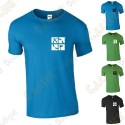 "Trackable ""Discover me"" T-shirt for Men"